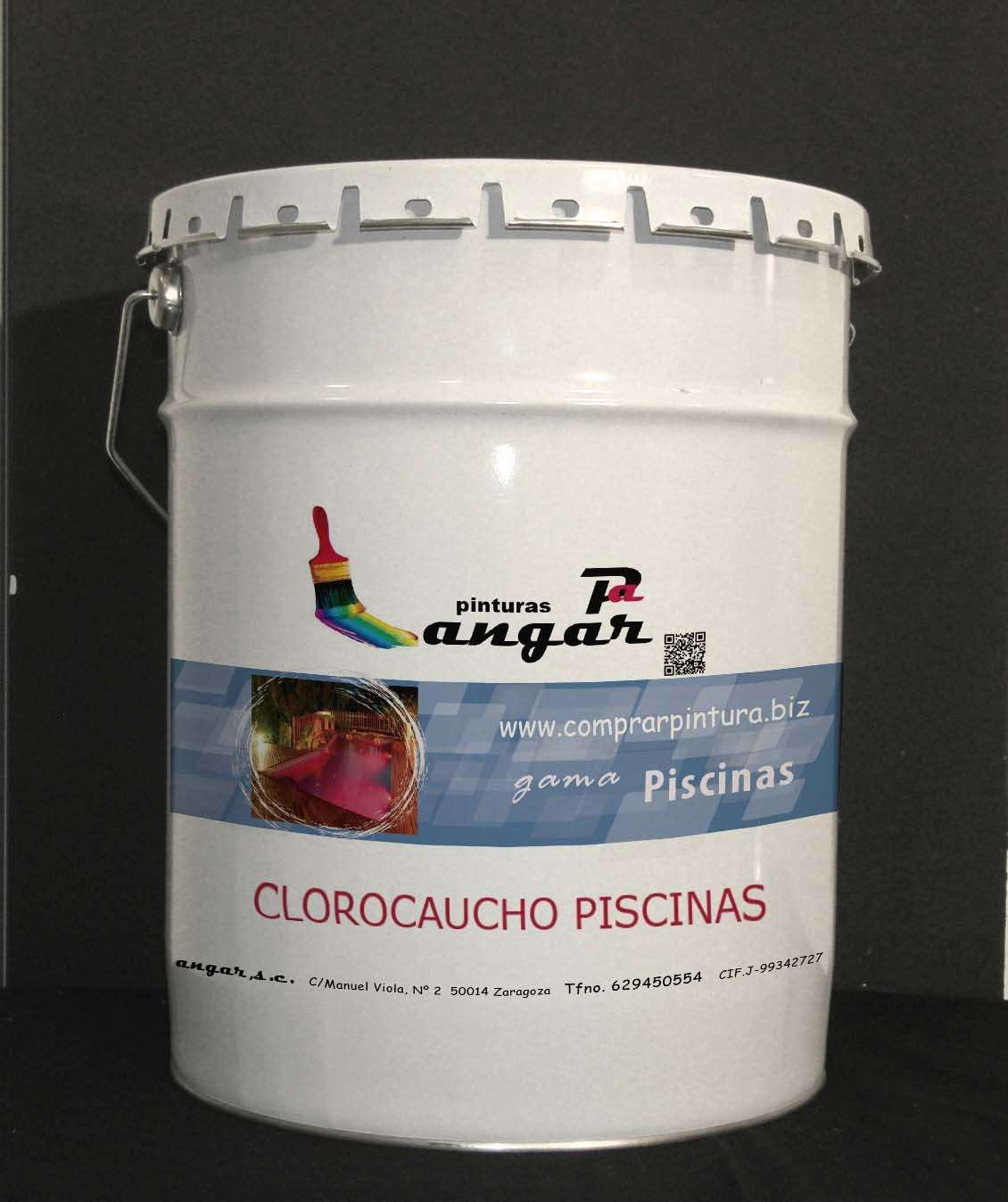 Pintura clorocaucho piscinas precio materiales de for Materiales para construccion de piscinas